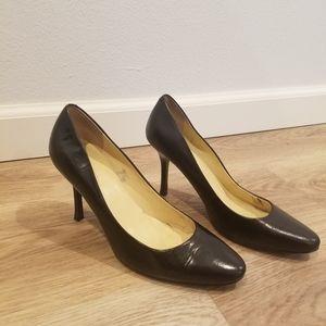 Ralph Lauren Classic Black Heels 6
